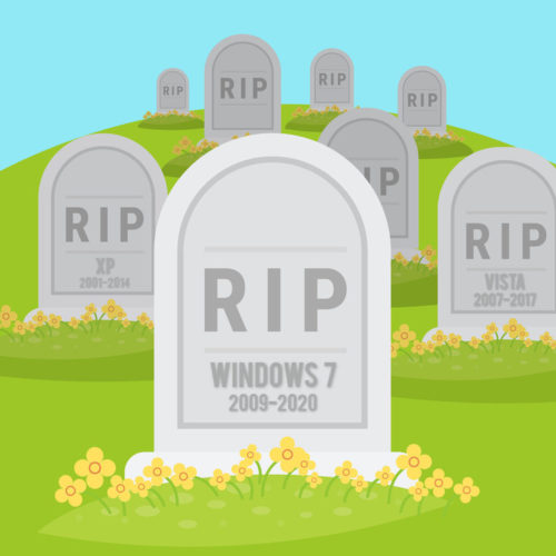 Once January 14th rolls around, Microsoft will no longer provide updates or free support for the Windows 7 operating system.