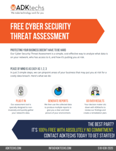 Free Cyber Security Threat Assessment